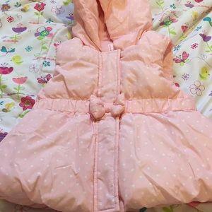 Like new Gymboree toddler girls puffer vest, 4t-5t